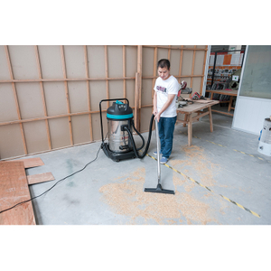 WL70 industrial large capacity wet dry vacuum cleaner